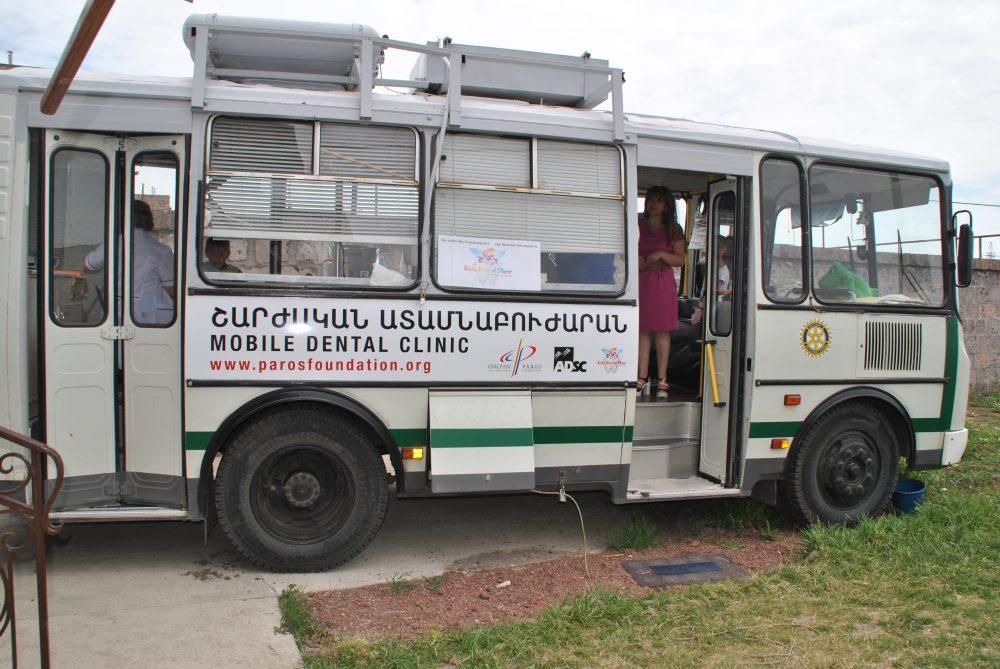 Mobile Dental Clinic for Vayots Dzor Region – The Paros